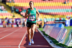 Greta Streimikyte, IRE competing in the T13, 1500m at the Berlin 2018 World Para Athletics European Championships