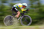 Rohan Dennis (AUS - BMC) during the 101th Tour of Italy, Giro d'Italia 2018, stage 16, Trento - Rovereto 34.5 km on May 22, 2018 in Italy - Photo Luca Bettini / BettiniPhoto / ProSportsImages / DPPI