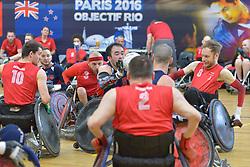 USA V Denmark at the 2016 IWRF Rio Qualifiers, Paris, France