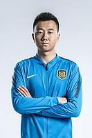 **EXCLUSIVE**Portrait of Chinese soccer player Zhang Jingyi of Jiangsu Suning F.C. for the 2018 Chinese Football Association Super League, in Nanjing city, east China's Jiangsu province, 23 February 2018.