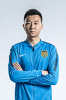 **EXCLUSIVE**Portrait of Chinese soccer player Zhang Jingyi of Jiangsu Suning F.C. for the 2018 Chinese Football Association Super League, in Nanjing city, east China's Jiangsu province, 23 February 2018.
