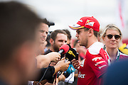 October 20, 2016: United States Grand Prix. Sebastian Vettel (GER), Ferrari