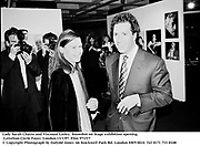 Lady Sarah Chatto and Viscount Linley. Snowdon on Stage exhibition opening. Lyttelton Circle Foyer. London.13/1/97. Film 971f17<br />© Copyright Photograph by Dafydd Jones<br />66 Stockwell Park Rd. London SW9 0DA<br />Tel 0171 733 0108