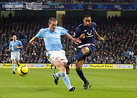 11/12/2004 - FA Barclays Premiership - Manchester City v Tottenham Hotspur - The City of Manchester Stadium.<br />