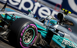 May 27, 2017 - Monte-Carlo, Monaco - Valtteri Bottas of Finland and AMG Petronas Mercedes driver goes during the qualification on Formula 1 Grand Prix de Monaco on May 27, 2017 in Monte Carlo, Monaco. (Credit Image: © Robert Szaniszlo/NurPhoto via ZUMA Press)