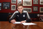 18 year old attacking midfielder Jack Lambert has signed a contract extention at Dundee FC. The youngster who joined up at Dens Park after being released by Middlesbrough in the summer made his first team debit as a substitute against Celtic on Boxing Day <br /> <br /> <br />  - &copy; David Young - www.davidyoungphoto.co.uk - email: davidyoungphoto@gmail.com