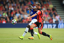 Steve Cook of Bournemouth tackles Romelu Lukaku of Everton - Mandatory by-line: Jason Brown/JMP - 24/09/2016 - FOOTBALL - Vitality Stadium - Bournemouth, England - AFC Bournemouth v Everton - Premier League