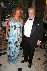 SIR WILLIAM & LADY MCALPINE at the Royal Academy of Art's Summer Ball held at Burlington House, Piccadilly, London on 16th June 2008.<br />