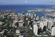 Downtown, Honolulu, Oahu, Hawaii<br />
