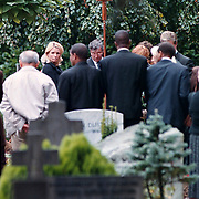 Begrafenis oma Leontine Ruiters