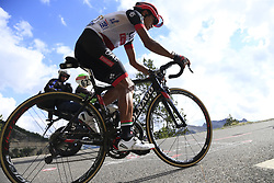 Darwin Atapuma (COL) UAE Team Emirates climbs through the Caisse Deserte on Col d'Izoard during Stage 18 of the 104th edition of the Tour de France 2017, running 179.5km from Briancon to the summit of Col d'Izoard, France. 20th July 2017.<br /> Picture: Eoin Clarke | Cyclefile<br /> <br /> All photos usage must carry mandatory copyright credit (© Cyclefile | Eoin Clarke)