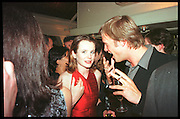 EMILY WATSON; Tatler Bafta party hosted by Jane Procter and Charles Finch. Lola's. Upper St. London. April 1999.