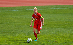 MARBELLA, SPAIN - Tuesday, March 5, 2019: Wales' captain Sophie Ingle during an international friendly match between Wales and Republic of Ireland at the Estadio Municipal de Marbella. (Pic by David Rawcliffe/Propaganda)