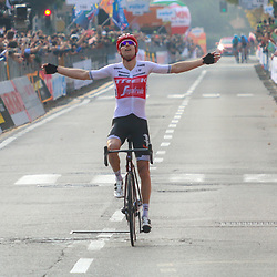 12-10-2019: Cycling: Il Lombardia: Como<br /> Bauke Mollema wins Il Lombardia. The last Dutch winner was Hennie Kuiper in 1981
