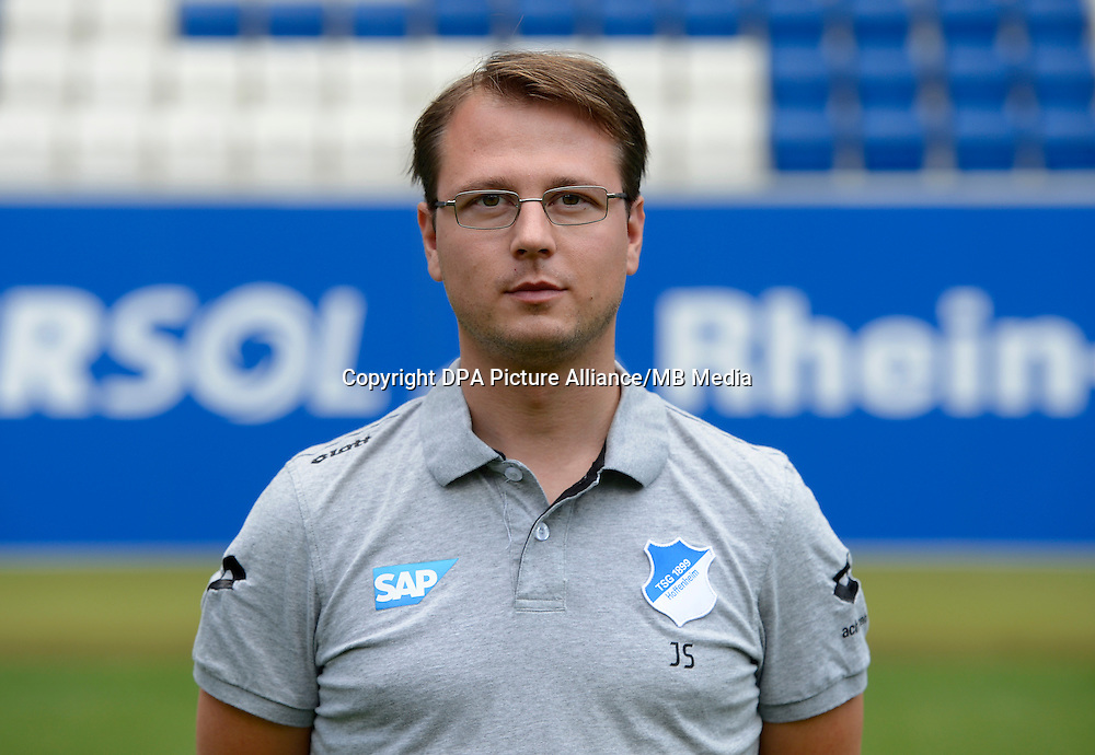 German Soccer Bundesliga - Photocall 1899 Hoffenheim on 15 July 2014 in Sinsheim, Germany: Gameanalyst and Scout Johannes Spors.