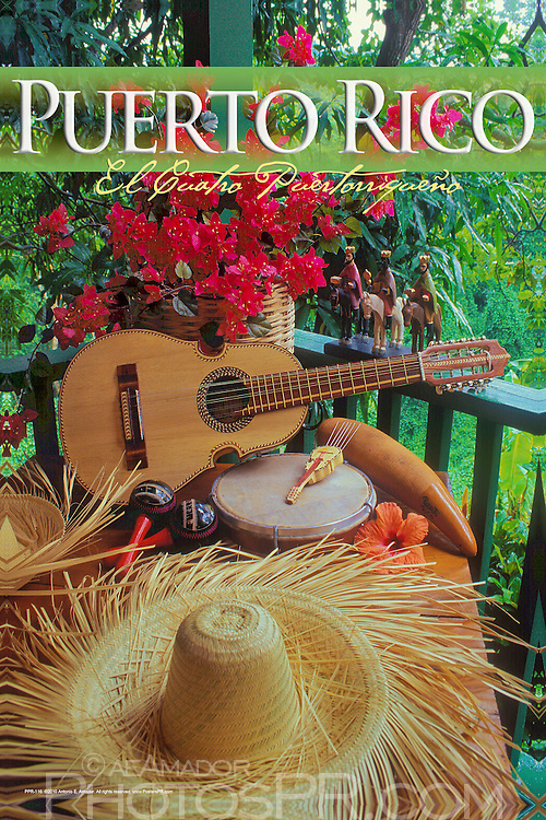 Puerto Rico traditional musical instruments