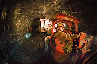 Mining in the Yukon Territory, Canada..