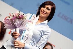 Teja Jeglic second companion during event Miss Sports of Slovenia 2012, on April 21, 2012, in Festivalna dvorana, Ljubljana, Slovenia. (Photo by Urban Urbanc / Sportida.com)