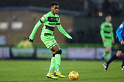 Forest Green Rovers Reece Brown(10) during the EFL Sky Bet League 2 match between Forest Green Rovers and Mansfield Town at the New Lawn, Forest Green, United Kingdom on 15 December 2018.