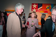DAVID OGILVY; EMMA SOAMES, Can we Still Be Friends- by Alexandra Shulman.- Book launch. Sotheby's. London. 28 March 2012.