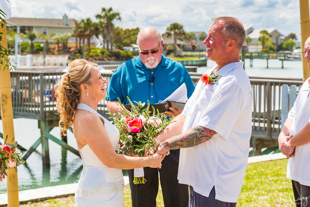 Shawn and Cheryl Ann Wedding, Garden City Beach