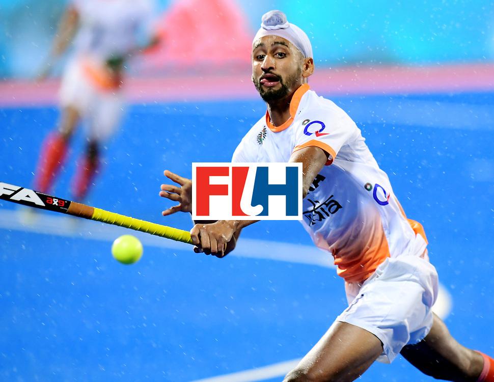 Odisha Men's Hockey World League Final Bhubaneswar 2017<br /> Match id:19<br /> India v Argentina<br /> Foto: Akashdeep Singh (Ind) <br /> COPYRIGHT WORLDSPORTPICS FRANK UIJLENBROEK
