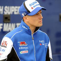 British Superbikes, Knockhill, 14-06-2013<br /> <br /> Tyco Suzuki, PJ Jacobsen (99)<br /> <br /> (c) David Wardle | StockPix.eu