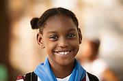 Schoolgirl, Santiago de Cuba.