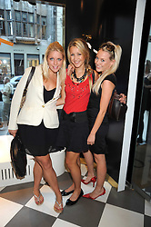 Left to right, GABBY WICKHAM, FIONA HEDGES and CHARLIE STRODL at the PPQ of Mayfair Summer Party at 47 Conduit Street, London on 30th July 2008.<br /> <br /> NON EXCLUSIVE - WORLD RIGHTS