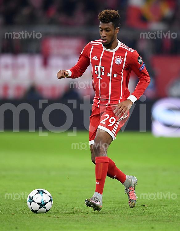 FUSSBALL CHAMPIONS LEAGUE SAISON 2017/2018 GRUPPENPHASE FC Bayern Muenchen - Paris Saint-Germain               05.12.2017 Kingsley Coman (FC Bayern Muenchen)