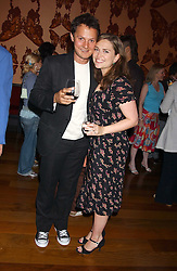 SHEBAH RONAY and JOHNNY YEO  at a party to celebrate the publication of Air Babylon by Imogen Edwards-Jones held at Fifty, 50 St.James's Street, London SW1 on 4th July 2005.<br /><br />NON EXCLUSIVE - WORLD RIGHTS