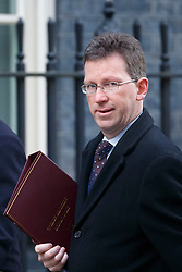 © Licensed to London News Pictures. 17/01/2017. London, UK. Attorney General JEREMY WRIGHT attends a cabinet meeting in Downing Street on Tuesday, 17 January 2017 before Prime Minister Theresa May's Brexit plan speech. Photo credit: Tolga Akmen/LNP