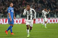 25.02.2017 - Torino - Serie A 2016/17 - 26a giornata  -  Juventus-Empoli nella  foto: Alex Sandro esulta dopo il gol del 2 a 0