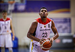 Samare  Jordan of Germany during basketball match between National teams of Germany and Montenegro in the 11th place Classifications of FIBA U18 European Championship 2019, on August 4, 2019 in Portaria Hall, Volos, Greece. Photo by Vid Ponikvar / Sportida