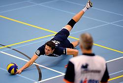 12-01-2013 VOLLEYBAL: SSS - AMBIANT LYCURGUS: BARNEVELD<br /> Lycurgus wint met 3-1 van SSS / Dwin Brouwer<br /> &copy;2013-FotoHoogendoorn.nl