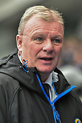 Leeds United Manager,  Steve Evans during the Sky Bet Championship match between Blackburn Rovers and Leeds United at Ewood Park, Blackburn, England on 12 March 2016. Photo by Mark Pollitt.