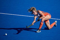 The Netherlands Sanne Koolen. Vitality Hockey Women's World Cup, Lee Valley Hockey and Tennis Centre, London, UK on 05 August 2018. Photo: Simon Parker