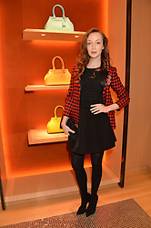 OLIVIA GRANT at the opening party for Moynat's new Maison de Vente in Mayfair at 112 Mount Street, London W1 on 12th March 2014.
