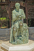 Israel, Nazareth, Statue of St. Joseph in St.Joseph's church