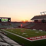 November 29, 2012:   A general view of High Point Solution Stadium prior to  the game between Louisville Cardinals and Rutgers Scarlet Knights at Highpoint Solutions Stadium in Piscataway, NJ.   (Credit Image: © Kostas Lymperopoulos/Cal Sport Media)