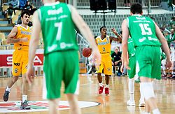 Corin Darius Henry of Sixt Primorska during basketball match between KK Sixt Primorska and KK Petrol Olimpija in semifinal of Spar Cup 2018/19, on February 16, 2019 in Arena Bonifika, Koper / Capodistria, Slovenia. Photo by Vid Ponikvar / Sportida