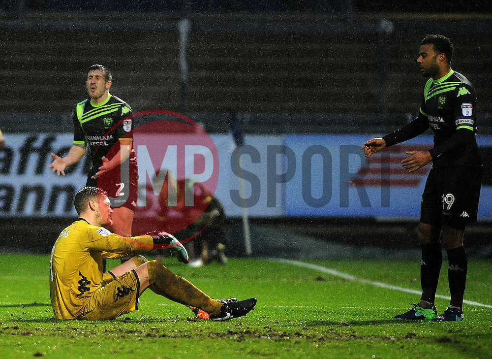 A mistake by Ben Williams of Bury led to Matt Taylor of Bristol Rovers equalising - Mandatory by-line: Neil Brookman/JMP - 10/12/2016 - FOOTBALL - Memorial Stadium - Bristol, England - Bristol Rovers v Bury - Sky Bet League One