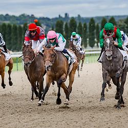 Minamya (right, C. Soumillon) beats Good Way Off (V. Cheminaud) in Prix du Haras de Quebrada in Deauville 07/08/02016