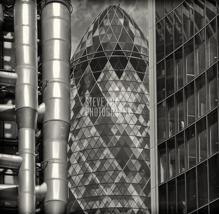 The Gherkin, 30 St Mary Axe, London
