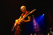 Joe Satriani, famed rock guitarist. Has played with Mick Jagger, the G3 Tour, lead guitarist for Deep Purple, Chickenfoot. Since 1988, Satriani uses his signature Ibanez JS Series.