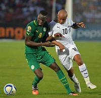 Cheikhou Kouyate (SEN) vs Andre Ayew (GHA)