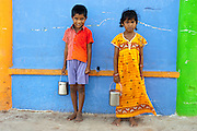 Children at Nagore town.