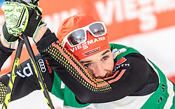 19.02.2016, Salpausselkae Stadion, Lahti, FIN, FIS Weltcup Nordische Kombination, Lahti, Langlauf, im Bild Fabian Riessle (GER) // Fabian Riessle of Germany reacts during Cross Country Gundersen Race of FIS Nordic Combined World Cup, Lahti Ski Games at the Salpausselkae Stadium in Lahti, Finland on 2016/02/19. EXPA Pictures © 2016, PhotoCredit: EXPA/ JFK