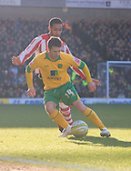 Saturday February 20th 2010: Norwich City play Southampton at the Canaries home ground Carrow road. Wes Hoolahan on the ball for Norwich. (Pic by Rob Colman Focus Images)