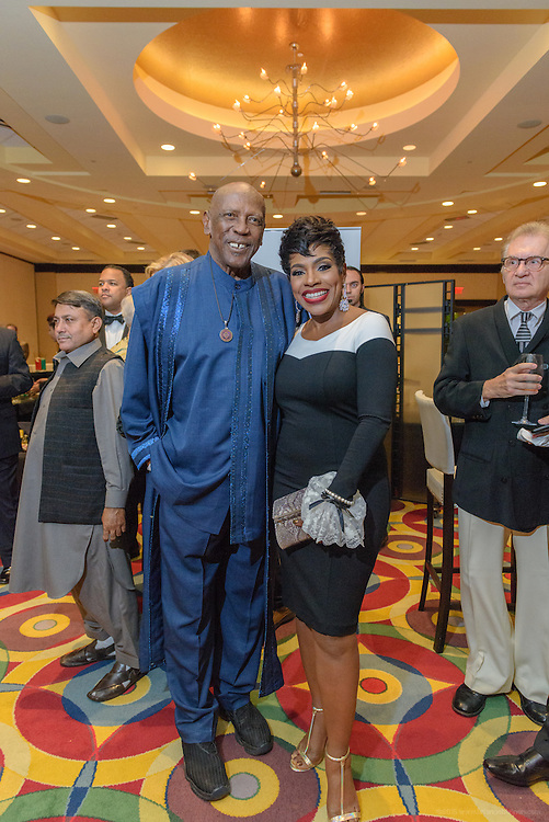 Louis Gossett, Jr. and Sheryl Lee Ralph are seen at the VIP and sponsor reception before walking the red carpet at the fourth annual Muhammad Ali Humanitarian Awards Saturday, Sept. 17, 2016 at the Marriott Hotel in Louisville, Ky. Louis Gossett, Jr. received the Muhammad Ali Humanitarian Award for Education and Sheryl Lee Ralph, received the Muhammad Ali Humanitarian Award for Global Citizenship at the event. (Photo by Brian Bohannon for the Muhammad Ali Center)